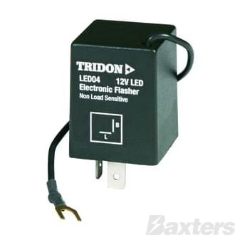 Flasher Can LED Tridon 12V 2 Pin No Load Sense