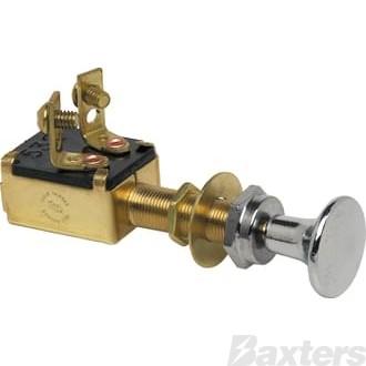 Push / Pull Switch Off/On SPST Marine
