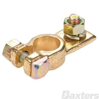 Brass Battery Terminal PMV (Suits Holden) Negative