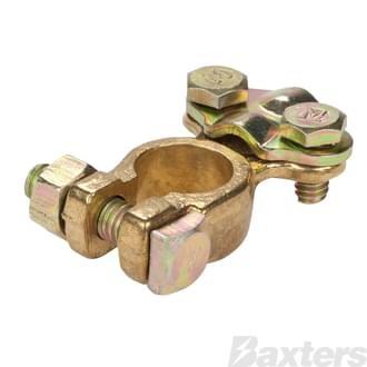 Saddle Type Brass Battery Terminal PMV Universal