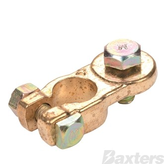 Matson Heavy Duty Brass Battery Terminal +ve [5Pcs]