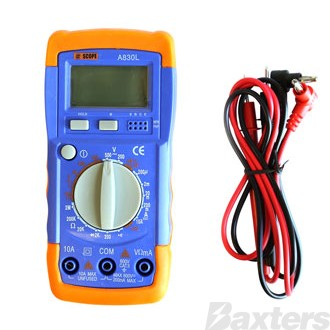 Scope Digital Multimeter - 12mm LCD Display