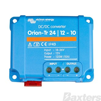 Reducer Victron Orion-Tr 24 to 12V 10A (120W)  Retail Packaging