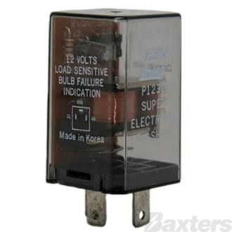 Flasher Can Bosch 12V 3 Pin Load Sensitive