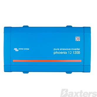 Victron Phoenix Inverter 12/1200VA 1kW 230V VE.Direct AU/NZ Pure Sinewave