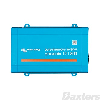 Victron Phoenix Inverter 12/800VA 650W 230V VE.Direct AU/NZ Pure Sinewave