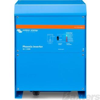 Victron Phoenix Inverter 12/3kVA 2.4kW 230V VE.Direct Pure Sinewave AC Voltage Hard Wired