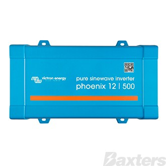 Victron Phoenix Inverter 12/500VA 400W 230V VE.Direct AU/NZ Pure Sinewave