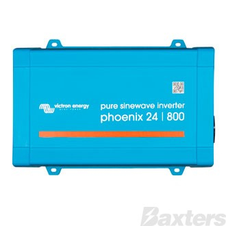 Victron Phoenix Inverter 24/800VA 650W 230V VE.Direct AU/NZ Pure Sinewave