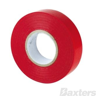 Tape PVC Red 18mm X 20Mtr (Ea)