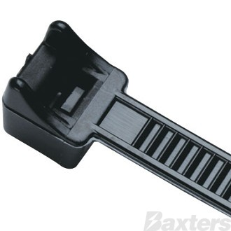 Cable Tie 368MM Black Pack 100 ** Can Use BNCT370HD **