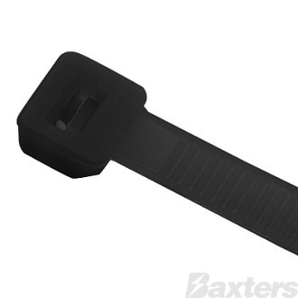 Cable Tie 550mm x 7.6mm Black (Pkt 100)