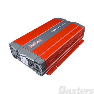 Inverter Redarc 12V DC To 240V AC 1500W Pure Sine Wave
