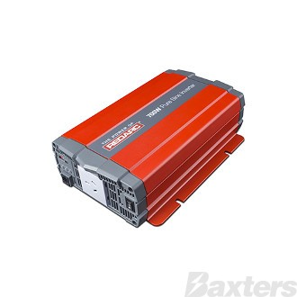 Inverter Redarc 12V DC To 240V AC 700W Pure Sine Wave