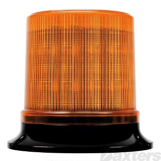 LED Beacon RB130 Series 10 - 36V Amber Fixed Mount 30SMD LED's Watts Quad Strobe