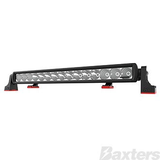 "LED Bar Light 21"" SR2 Series Combo Beam 10-30V 15 x 3W Osram High Lux LEDs 45W 4050lm IP67 Slide & End Mounts Roadvision Black Label"