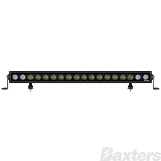 "LED Bar Light 30"" Rollar Series Combo Beam 10-30V 18 x 10W LEDs 180W 16200lm IP67 Slide & End Mount Roadvision"