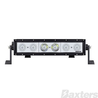 "LED Bar Light 14"" DCS Series Combo Beam 10-30V 6 x 10W LEDs 60W 5400lm IP67 Slide & End Mount Roadvision"