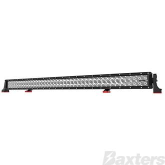 "LED Bar Light 42"" DC2 Series Combo Beam 10-30V 80 x 3W Osram High Lux LEDs 240W 21600lm IP67 Slide & End Mounts Roadvision Black Label"