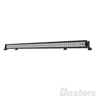"LED Bar Light 50"" DC2 Series Combo Beam 10-30V 96 x 3W Osram High Lux LEDs 288W 25920lm IP67 Slide & End Mounts Roadvision Black Label"