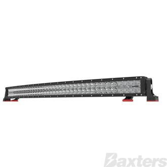 "LED Bar Light 42"" DCX2 Series Curved Combo Beam 10-30V 80 x 3W Osram High Lux LEDs 240W 21600lm IP67 Slide & End Mounts Roadvision Black Label"
