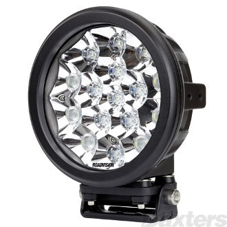 "LED Driving Light 7"" D Series Driving Beam 9-32V 16 x 5W LEDs 80W 6400lm IP67 Roadvision Dominator (BDL1080C)"