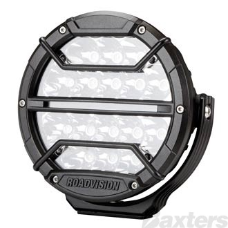 "LED Driving Light 7"" DL Series GEN2 Spot Beam 9-32V with Daylight Strip 5204lm TMT 5700K"