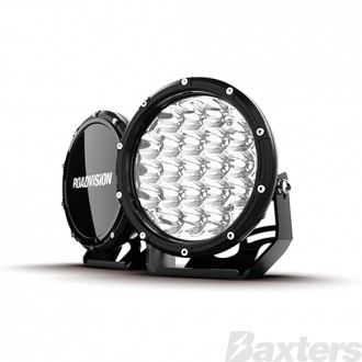 "LED Driving Light Set 7"" DLE Series Spot Beam 11-32V 7200lm 6000K IP68 210W Per Set Roadvision Essentials Series"