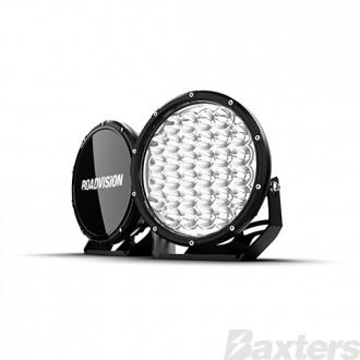 "LED Driving Light Set 9"" DLW Series Spot Beam 11-32V 10200lm 6000K IP68 320W Per Set Roadvision Essentials Series"