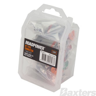 Roadpower DT Type Connector Kit 3 Way Trade Pack [5 Sets]
