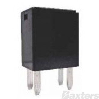 Relay Micro 24V 15A 280 Series Normally Open Resistor Protected 4 Pin