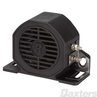 Roadpower Reverse/Back Up Alarm, 12-80V, 102dB, Broadband/White Noise/Squawker, IP67