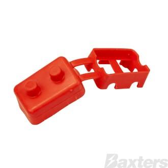 Roadpower Circuit Breaker Insulator Cover, Red, Single Pack