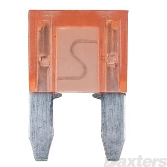 Roadpower Mini Blade Fuse 7.5A Brown 10 Pack