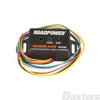 Roadpower Hand Brake Alarm 12/24V 5 Wire Hookup; 82mm(L) x 38mm(W) x 21mm(H)