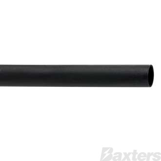 Roadpower Heat shrink Tubing 6mm x 10m Black Ratio 2:1 Box Dispenser