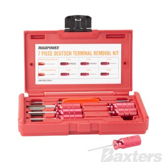 Roadpower Deutsch Terminal Tool Kit 7 Pieces Includes Carry Case