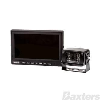 Roadpower Reverse Camera Kit 7 Inch Quad Display 12/24V