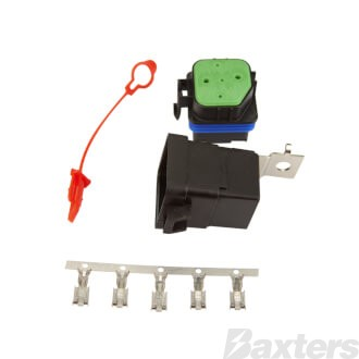 Roadpower Relay 24V 5 Pin 10/20A Changeover Waterproof With Base Resistor Protected