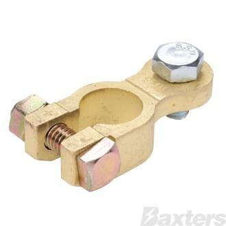 Brass Battery Terminal Positive