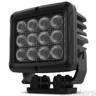 LED Work Light Square Flood Beam 10-30V 36 x 5W LED's