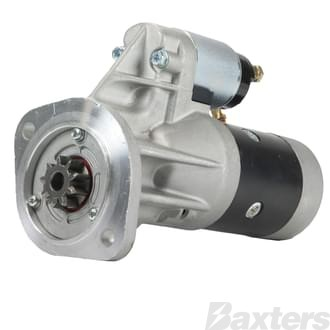 Starter Hitachi Type 2.0kW 12V 9T 35mm CW Suits Nissan Patrol GQ Rd28, Rd28T 2.8 Diesel