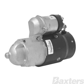 Starter Delco Type 2.3KW 12V 9T 25mm CW Offset Mount To Suit Chev Applications
