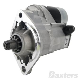 Starter Denso Type 4.5kW 24V 11T 40.5mm CW Suits Hino J08C Diesels