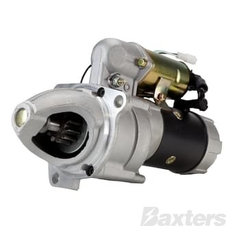Starter Nikko Type 4.5KW 24V 11T 40mm CW Suits Isuzu 6BB1,6BD1,6BF1
