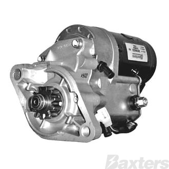 Starter Denso Type 2.0kW 12V 11T 40mm CW Suits Toyota Hiace Hilux 4 Cyl, 2L, 3L Diesel