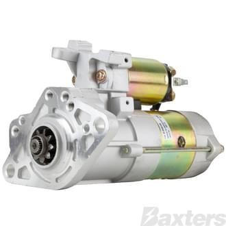 Starter Mitsubishi Type 3.7kW 24V 9T 35mm CW Suits Mitsubishi Canter 4D33 4D34 Diesel