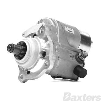 Starter Denso Type 2.5kW 12V 10T 40mm CCW Suits Case Lister Universal
