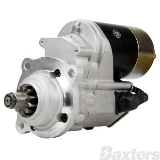 Starter Denso Type 2.5kW 12V 10T 40mm CW Wet Clutch Suits Perkins Hyster Universal