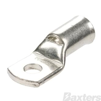 Cable Lugs (Bellmouth) 70mm 00 B&S, 8mm Hole (Ea) *QCU70-8*